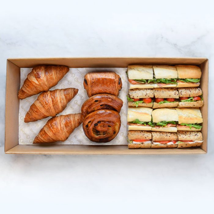 Lunch and Pastry box