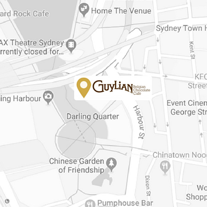 Guylian Darling Quarter Map